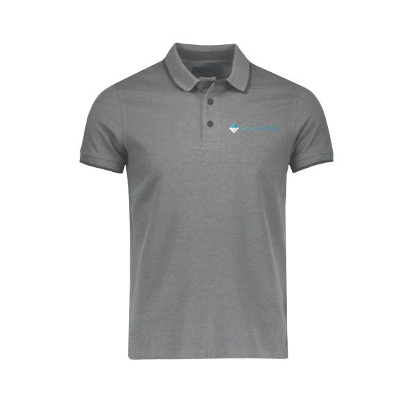 Waves Retro Polo Gray