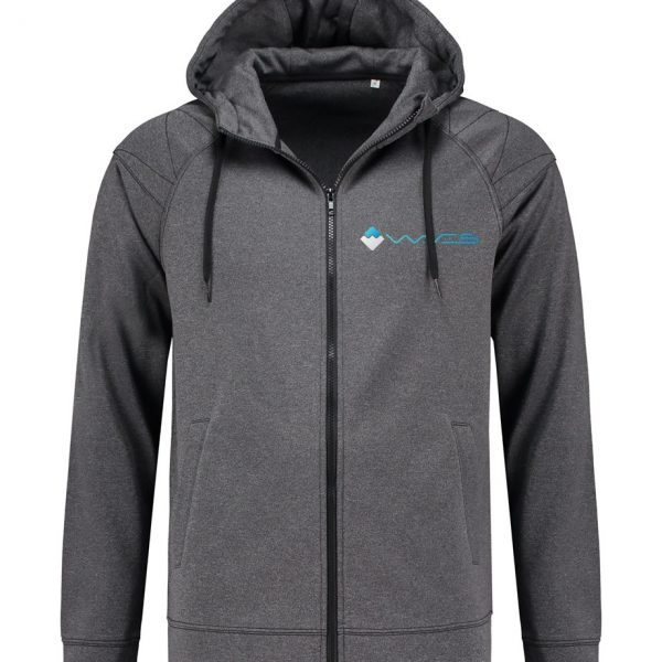 Waves Retro Jacket Hood Dark