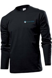 Waves Retro Longsleeve Black