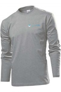 Waves Retro Longsleeve Gray