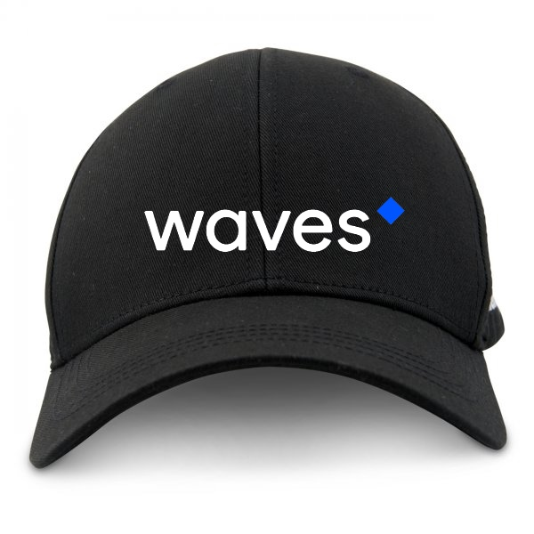 Waves Cap Black