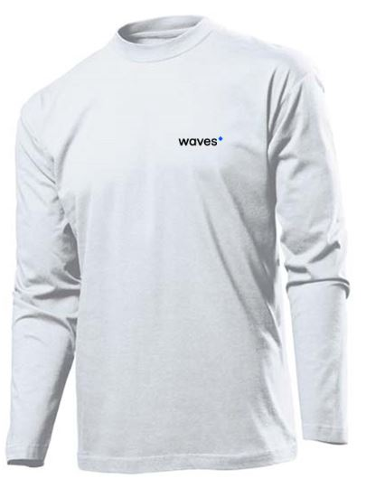 Waves Longsleeve White