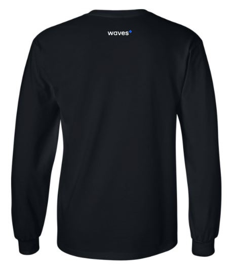 Waves Longsleeve Black Back