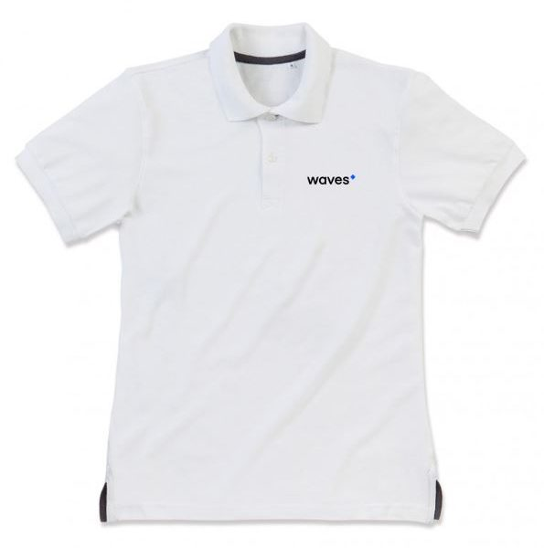 Waves Polo White