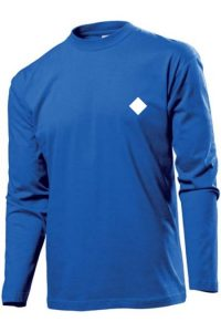 Waves Longsleeve blue